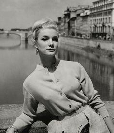 Yvette Mimieux, Italia, 1962