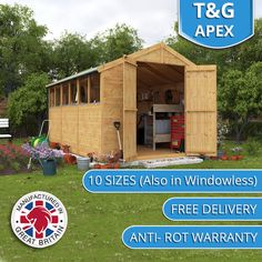 huge selection of garden storage buildings at factory direct pricing choose from garden sheds - Garden Sheds Essex