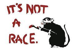 Banksy sRat Race A3 A4