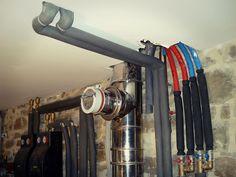 Instalación de calderas de pellets y radiadores