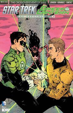 Star Trek/Green Lantern #2 #IDW #StarTrek #GreenLantern Release Date: 8/12/2015