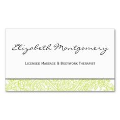 389 best appointment reminder business cards images on pinterest in green paisley modern appointment business card business card templates business card templates business card design flashek Image collections