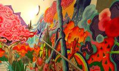 havas-paris-street-art-graffiti-escaliers-bureaux-agence-publicite-stairway-to-paris-puteaux-12 Graffiti, Street Art, Paris, Marketing, Painting, Stairs, Montmartre Paris, Painting Art, Paris France