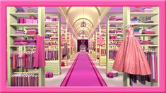 Barbie's never-ending closet