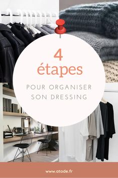 Comment Organiser Son Dressing, Minimalist Dresses, Capsule, Pin, Sweet Home, Environment, Style, Fitness, Minimalist Clothing