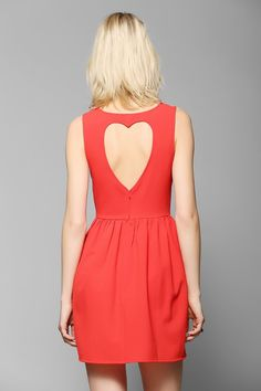 Heartback dresses for the bridesmaids