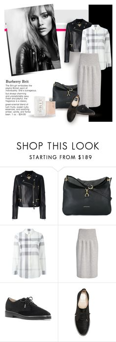 """Burberry"" by bb60477 ❤ liked on Polyvore featuring Burberry and Vince Camuto"