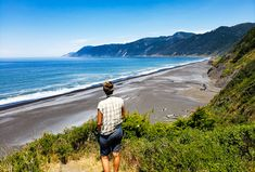 Looking to get away from it all? Consider the Lost Coast drive in Northern California, ruggedly beautiful from Black Sand Beaches to Giant Redwood tress.