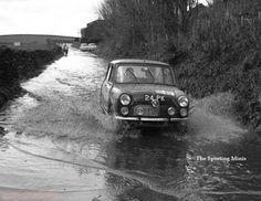 Brian on the 1963 RAC
