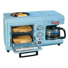 This is so neat. I might actually make breakfast if I had one.   Retro 3 in 1 Breakfast Station