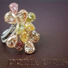 Rosamaria G Frangini | High Yellow Jewellery | Fancy Color Diamonds Ring