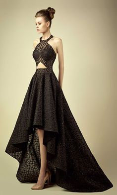 Featured Dress: Fadwa Baalbaki; Evening dress idea.