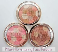 Milani Illuminating Face Powders. may need to try these.