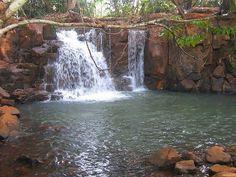 Petites chutes d'eau Gheschio Dja Banjoun dans l'ouest. Tour de photo du Cameroun par Camernews