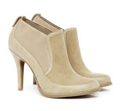 Colette boots in taupe - Sole Society