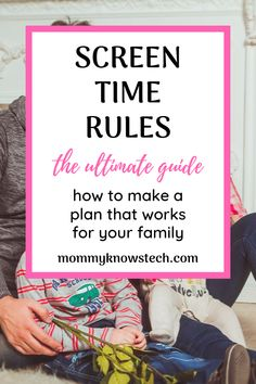 Need help setting effective screen time rules for your family? Check out these expert guidelines and see real-life examples of screen time rules that work. Computer Rules, Computer Science, Teaching Technology, Teaching Biology, Parenting Done Right, Parenting 101, Internet Safety For Kids, Technology Addiction, Rules For Kids