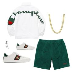 """""""Untitled #208"""" by xssiri on Polyvore featuring Gucci, men's fashion and menswear"""