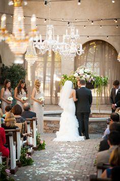 Photography: Christopher Todd Studios - www.christophertoddstudios.com/  Read More: http://www.stylemepretty.com/california-weddings/2014/06/05/san-juan-capistrano-wedding-at-serra-plaza/