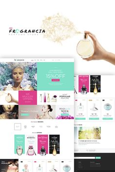 Fragrancia Perfume Store Theme is WordPress theme that is adapted to creating full-featured websites. #wordpresslayout #wordpressdesign #perfumestorewebsitedesign #parfumerieshop #webdesign https://www.templatemonster.com/woocommerce-themes/fragrancia-perfume-store-woocommerce-theme-68157.html