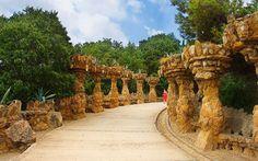 Удивительный Парк Гуэля в Барселоне — 1 (11 фото)