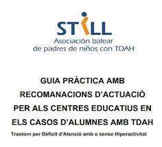 http://lacasetaespecial.blogspot.com.es/2012/05/tdah-associacio-still.html   La CASETA, un lloc especial: TDAH: Associació STILL