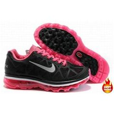 Nike Air Max 2009 Women Mesh Shoes Black/Pink Color Nike Air Max 2011, Air Max 2009, Nike Air Max For Women, Nike Women, Air Max Sneakers, Sneakers Nike, Nike Shox Shoes, Pink Running Shoes, Buy Shoes
