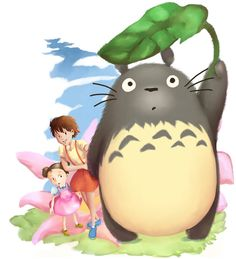 Totoro by nisaza on DeviantArt