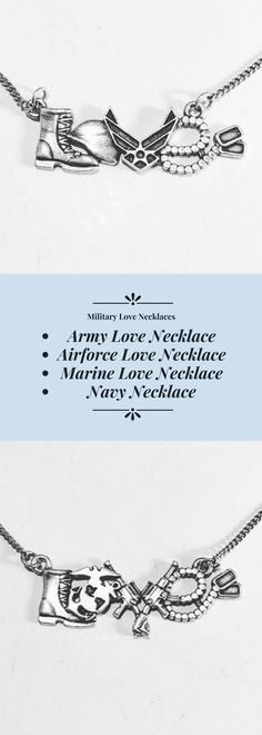 Military Love Necklaces