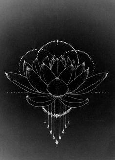 Tattoo graphic idea – lotus drawing Tattoo graphic idea – lotus drawing More from my site # day . Graphic watercolour triangles tattoo Done by StefK Besalú Tattoo Catalunya Koit Tattoo, Berlin. White Tree of Gondor theme with quotes, black tattoo. Kritzelei Tattoo, Dreieckiges Tattoos, Trendy Tattoos, Tatoos, Lotus Tattoo, Fun Tattoo, Shape Tattoo, Sacred Geometry Symbols, Sacred Geometry Tattoo