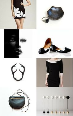Black and White by Selenay on Etsy--Pinned with TreasuryPin.com
