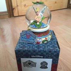 Disney Traditions Tinkerbell 'Holly' Globe in Collectables, Disneyana, Contemporary (1968-Now) | eBay