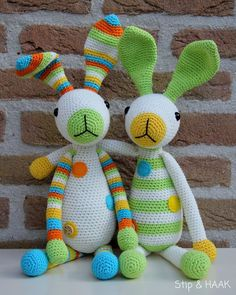 Mesmerizing Crochet an Amigurumi Rabbit Ideas. Lovely Crochet an Amigurumi Rabbit Ideas. Crochet Amigurumi, Amigurumi Patterns, Crochet Dolls, Crochet Patterns, Easter Crochet, Cute Crochet, Crochet Rabbit, Crochet Animals, Handmade Toys