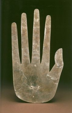 Mica Hand, Hopewell Tribe, Ross County, Ohio, ca. 100 BCE - 500 CE
