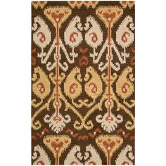 Siam Chocolate (Brown) 3 ft. 6 in. x 5 ft. 6 in. Area Rug