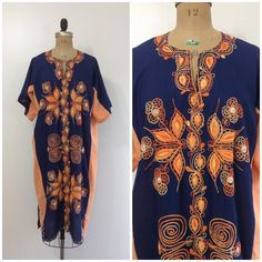 A personal favorite from my Etsy shop https://www.etsy.com/listing/475863170/1970s-embroidered-dashiki-70s-ethnic