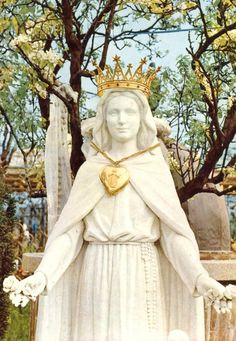 The Madonna of the Roses Garden of Paradise at San Damiano in Italy.