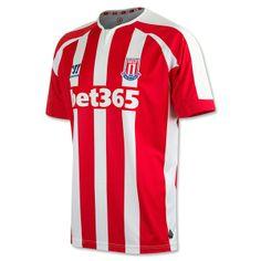 e35d8eac976 Stoke City 14 15 Home Soccer Jersey  BritishPremierLeague  Soccer  Apparel   Athletes