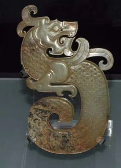 Antique Jade, Chinese Design, China Art, Ancient China, Bone Carving, Chinese Culture, Dragons, Bronze, Sculpture