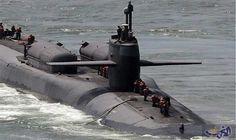 دخلت الغواصة النووية الأمريكية أوهايو ssgn726 الأربعاء 13 يوليوتموز 2016 ميناء مدينة بوسان في كوريا الجنوبية