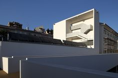 Rodrigues Lobo Secondary School in Leiria, Portugal by Inês Lobo