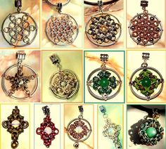 how to make a chainmaille mandala
