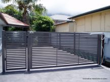 Swing Gate, Aluminium, Gate, Driveway Gate, Slats, Picket Gates, Glass Gates…