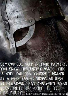 """""""Em algum lugar profundo em sua memória, você reconhece os antigos caminhos...é por isso que você se encontra atraido por um profundo e enraizado """"estimulo"""". Um estimulo tão poderoso que você ao menos o questiona...ou luta contra...na verdade vocé anseia por ele!!"""""""