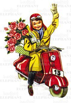 Image result for valentine scooter