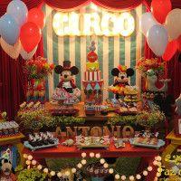 decoração-circo-do-mickey