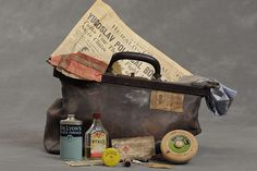 #willardsuitcases project by Jon Crispin: he takes photos of the bags and belongings of people admitted to Willard Asylum, NY, between 1910 and the 1960s. It's fascinating to see what the patients packed for their time in the wards.