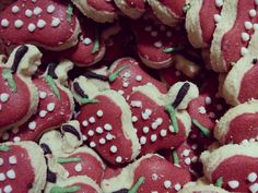 Strawberry cookies :)