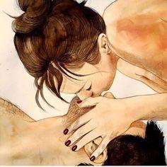 20 чрезвычайно интимных иллюстраций, которые отражают весь соблазн прикосновения
