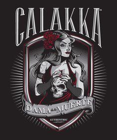 CALAKKA™ : La Dama (Process) on Behance
