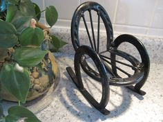 horseshoe rocking chair | Western Horseshoe Rocking Chair Horse Shoe by CrystalCoaster